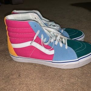 Brand new multi color vans